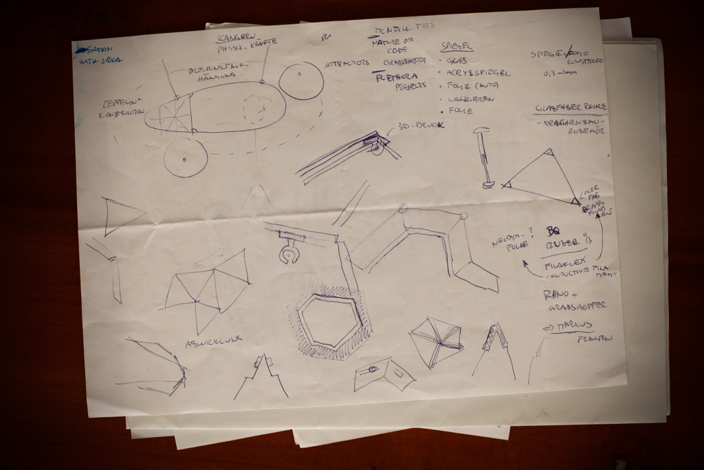 Ideation for modular geometric object